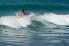 3 dei wyzwania 4 forte marmi surf analogowa Fotografia Royalty Free