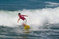 3 dei wyzwania 4 forte marmi surf analogowa Obraz Royalty Free