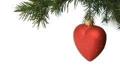 3 dekoracji drzewo bożego narodzenia Zdjęcie Stock