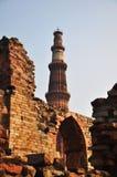 3 Delhi ind minar qutub Obrazy Royalty Free