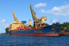 3 docks Fotografering för Bildbyråer