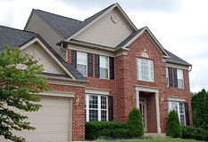 3 domów luksus obraz stock