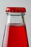 3 drinka zbliżeń czerwone. Zdjęcia Stock