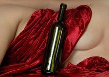 3 drucken golvkvinna Royaltyfri Fotografi