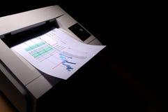 3 drukarka laserowa Fotografia Royalty Free