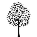 3 drzewo Zdjęcia Stock
