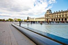 3 dzień louvre muzeum pogodny Obrazy Royalty Free