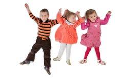 3 dziecko kłamie trzy najlepszego zdania obrazy stock