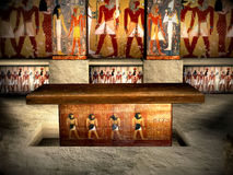 3 egypt tombs Royaltyfri Bild