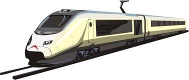 3 elektryczny pociąg royalty ilustracja