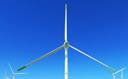 3 energii zieleń Zdjęcie Royalty Free