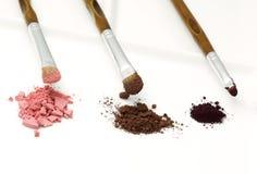 3 escovas da composição Imagem de Stock