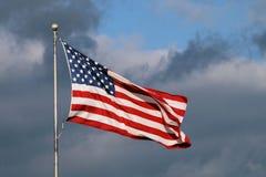 3 förenade flaggatillstånd Royaltyfria Foton