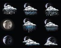 3 förutser väder för symbolsdelvektorn