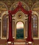 3 fantazj pałac Obrazy Royalty Free