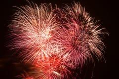 3 fireworks Στοκ Εικόνα