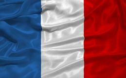 3 flagga france Royaltyfri Bild