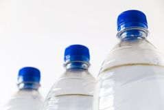 3 flessen Royalty-vrije Stock Afbeeldingen