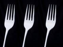 3 fourchettes image libre de droits