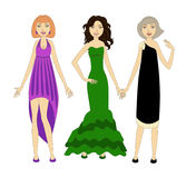 3 Frauen Lizenzfreie Abbildung