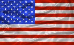 3 förenade flaggatillstånd Arkivfoton