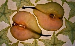 3 fruktserie Royaltyfria Bilder