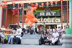 3 fu kung shaolin 免版税库存图片