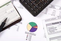 3 funduszy emerytury Obraz Stock
