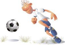 3 futbol Fotografia Stock