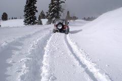 3 głęboki śnieg Obraz Royalty Free