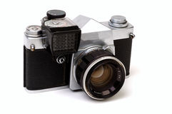 3 gammal 35mm kamera Royaltyfria Bilder