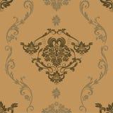 3 gekleurd BloemenPatroon Stock Afbeelding