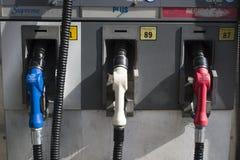 3 gicleurs de gaz par derrière Images libres de droits