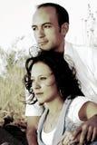 3 giovani delle coppie Fotografia Stock