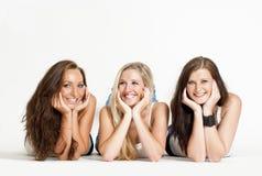 3 giovani donne Fotografia Stock Libera da Diritti