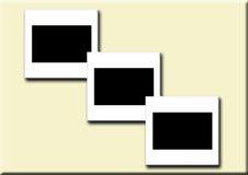 3 glissières en blanc Illustration de Vecteur