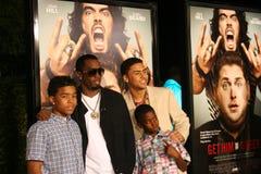 3 grępli Sean jego synowie Zdjęcie Royalty Free
