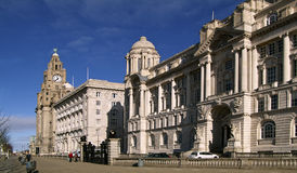 3 graces Liverpool Photographie stock libre de droits
