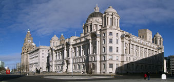 3 graces Liverpool Images stock