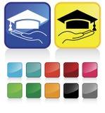 #3 gradué Images libres de droits