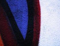 3 graffiti ścianę Zdjęcie Royalty Free