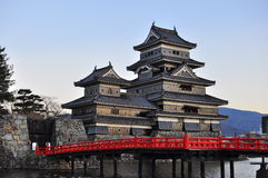 3 grodowy Japan Matsumoto Obraz Royalty Free