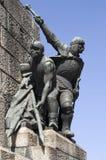3 grunwald纪念碑零件 免版税库存照片