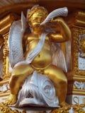3 gud guld göt pattaya thailand Fotografering för Bildbyråer