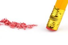 3 gumki ołówek Zdjęcie Royalty Free