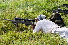 3-Gun Charity Competition Royalty Free Stock Photography