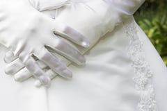 3 handskar Fotografering för Bildbyråer