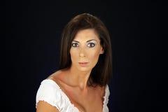 3 headshot piękna kobieta Zdjęcia Royalty Free