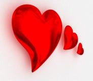 3 heart Royalty Free Stock Photography