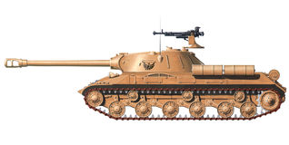 IS-3 heavy tank. IS-3 heavy russian world war 2 tank Royalty Free Stock Photography